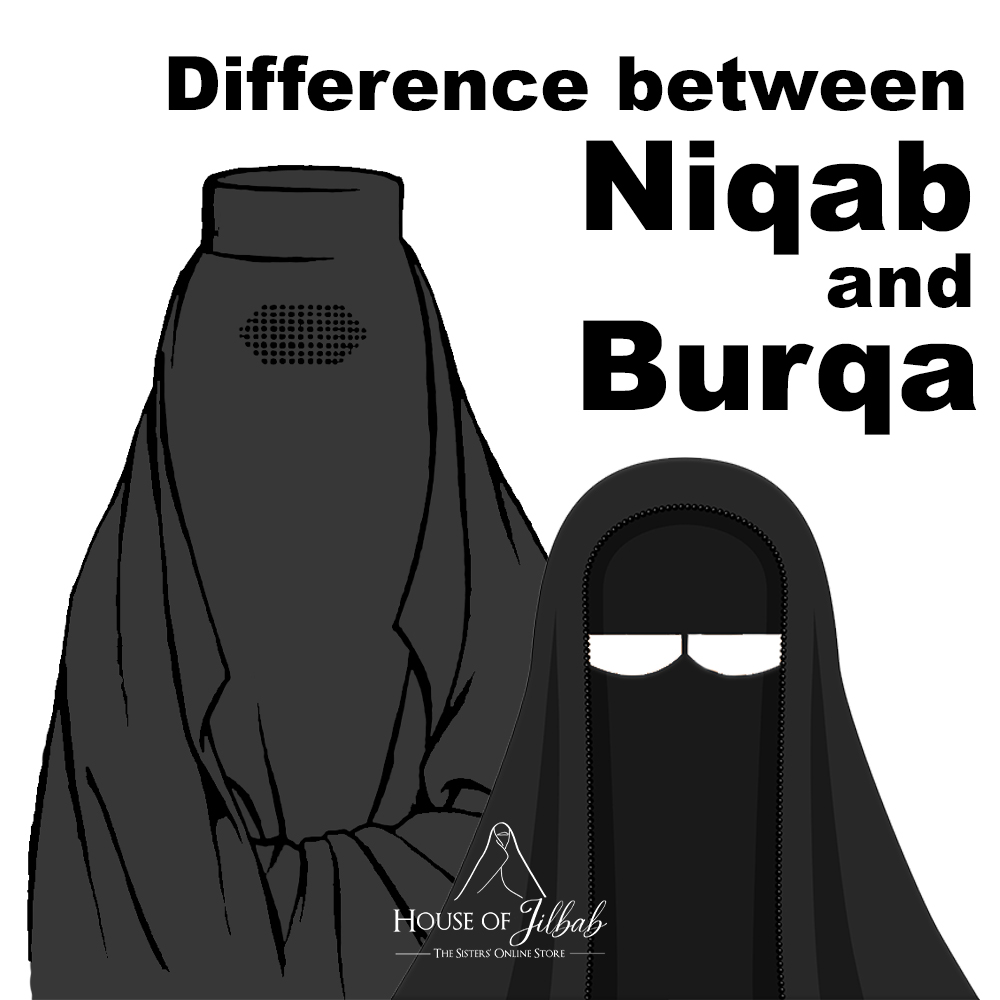 Difference between Niqab and Burqa ?